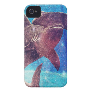 Hammerhead Shark Painting iPhone 4 Case-Mate Cases