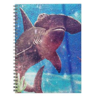 Hammerhead Shark Painting Notebooks