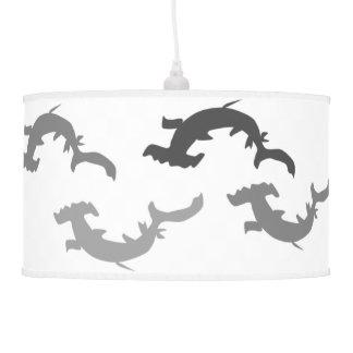 Hammerhead Sharks Pendant Lamp