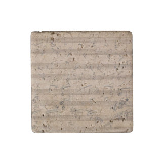 Hammerklavier Sonata Beethoven Original Score Stone Magnets