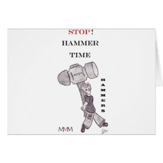 Hammers - stop hammer time card