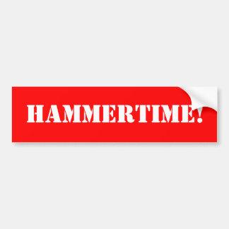HAMMERTIME! BUMPER STICKER