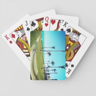 Hammock and Tropical Playing Cards