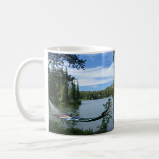 Hammock, Bench, Mountain Lake Mug