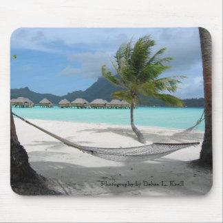 Hammock on Bora Bora Mousepad