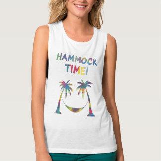 Hammock Time! Women's Summer T-Shirt, Top, Tank