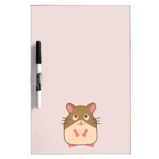 Hammy Hamster Dry-Erase Whiteboards