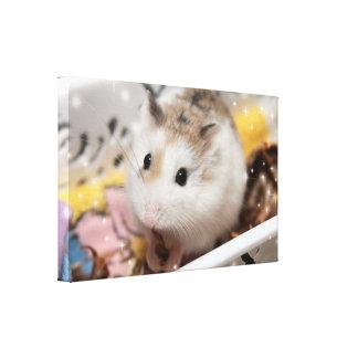Hammyville - Cute Hamster Canvas Print