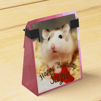 Hammyville - Cute Hamster Favor Box