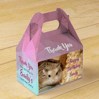 Hammyville - Cute Hamster Favor Box