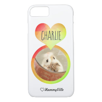 Hammyville - Cute Hamster Heart Case-Mate iPhone Case