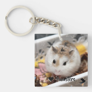 Hammyville - Cute Hamster Keychain