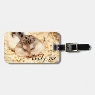 Hammyville - Cute Hamster Luggage Tag