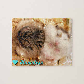 Hammyville - Cute Hamsters Jigsaw Puzzle