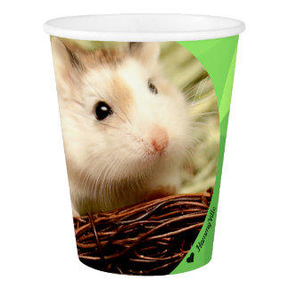 Hammyville - Cute Robo Hamster - Blessing Paper Cup