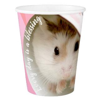 Hammyville - Cute Robo Hamster Paper Cup