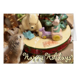 Hammyville - Hamster and Friends Holiday Card