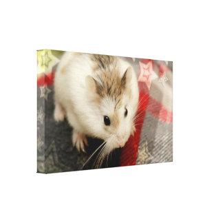 Hammyville - Hamster Holiday Canvas Print