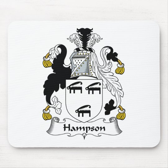 Hampson Family Crest Mouse Pad