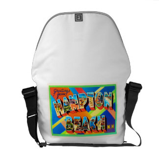 Hampton Beach #2 New Hampshire NH Travel Souvenir Commuter Bags
