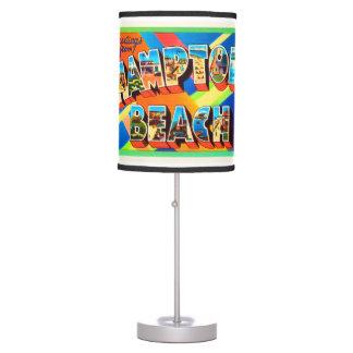 Hampton Beach #2 New Hampshire NH Travel Souvenir Desk Lamps