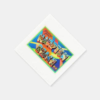 Hampton Beach #2 New Hampshire NH Travel Souvenir Paper Napkins