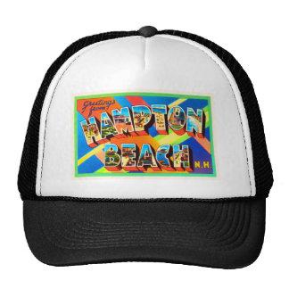 Hampton Beach #2 New Hampshire NH Travel Souvenir Trucker Hat