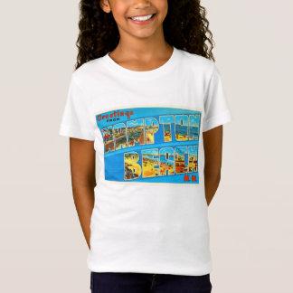 Hampton Beach New Hampshire NH Old Travel Souvenir T-Shirt