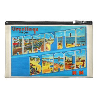Hampton Beach New Hampshire NH Old Travel Souvenir Travel Accessories Bag