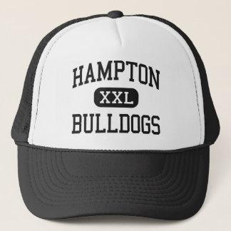 Hampton - Bulldogs - High - Hampton Arkansas Trucker Hat