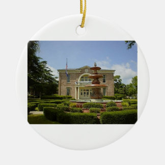 Hampton Courthouse Ceramic Ornament