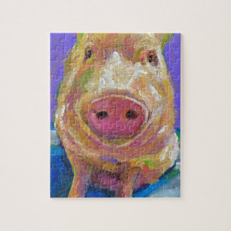Hampton the Pig Jigsaw Puzzle