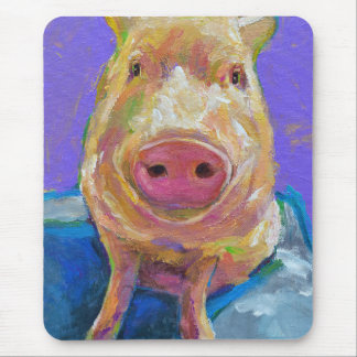 Hampton the Pig Mouse Pad