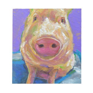 Hampton the Pig Notepad