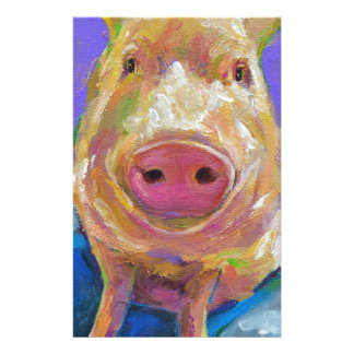 Hampton the Pig Stationery
