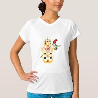 Hamsa and Flowers Shirt