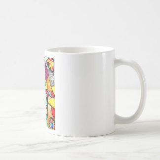 hamsa by Sandra Silberzweig Coffee Mug