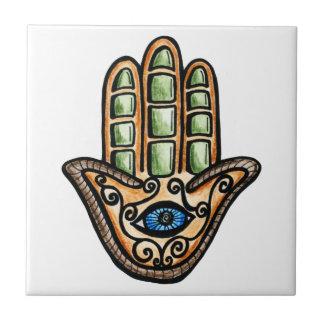 Hamsa Eye Tile