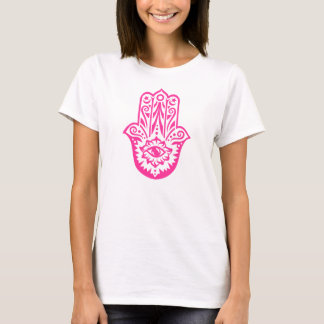 Hamsa, Hand of Fatima, protection amulet T-Shirt