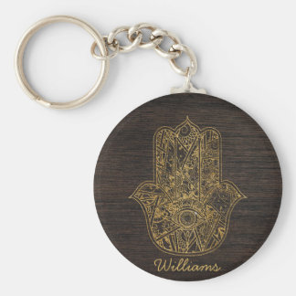 HAMSA Hand of Fatima symbol amulet design Keychain