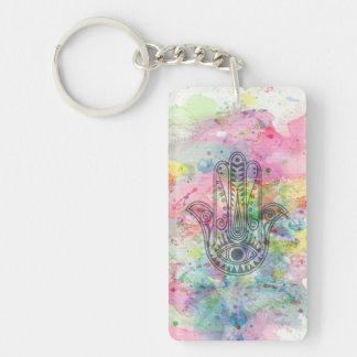 HAMSA Hand of Fatima symbol Keychain