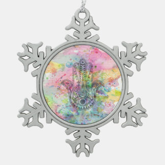 HAMSA Hand of Fatima symbol Ornament