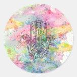 HAMSA Hand of Fatima symbol Sticker