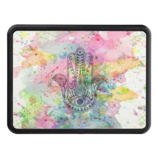 HAMSA Hand of Fatima symbol Trailer Hitch Cover
