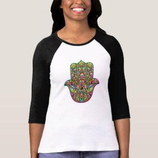Hamsa Hand Psychedelic Art T-shirts