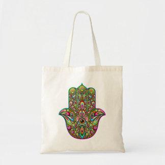 Hamsa Hand Psychedelic Budget Tote Budget Tote Bag