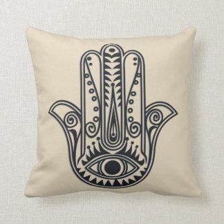 Hamsa Hand Throw Pillow