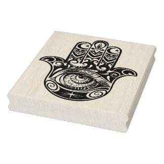 Hamsa Hand Zendoodle Rubber Stamp