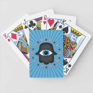 hamsa khamsa Eye in hand of the goddess Poker Deck