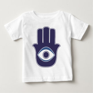 Hamsa / Khamsa Hand of Fatima / Mary Amulet / Luck Baby T-Shirt